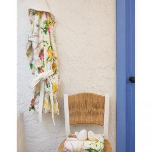 купить Халат с полотенцем Karaca Home Linus S/M