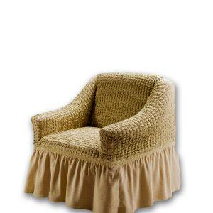 купить Чехол на кресло Love you беж