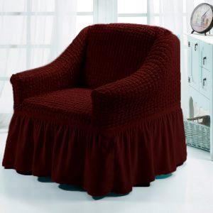 купить Чехол на кресло Love you вишня