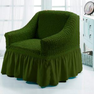 купить Чехол на кресло Love you олива