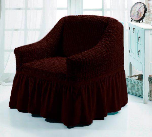 купить Чехол на кресло Love you черный шоколад