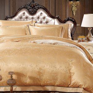 купить Шелковое постельное белье La Scala жаккард JP-19