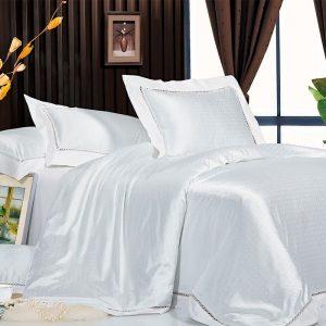Шелковое постельное белье La Scala жаккард JT-20