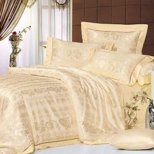 Шелковое постельное белье La Scala жаккард JT-23