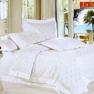 Шелковое постельное белье La Scala жаккард JT-29