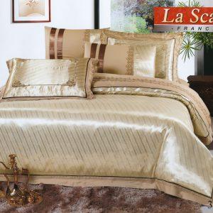 купить Шелковое постельное белье La Scala 3D-53