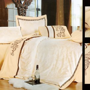 Шелковое постельное белье La Scala 3D-73