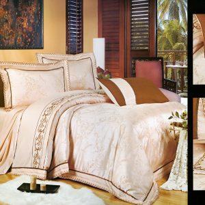 Шелковое постельное белье La Scala 3D-80