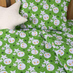 Детское постельное белье для младенцев Lotus ранфорс LoNy Зеленый 100×150
