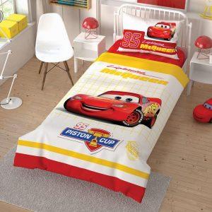 Детское постельное белье TAC Cars Cek Ранфорс 160×220