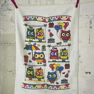 купить Кухонное полотенце Melih Happy Owls