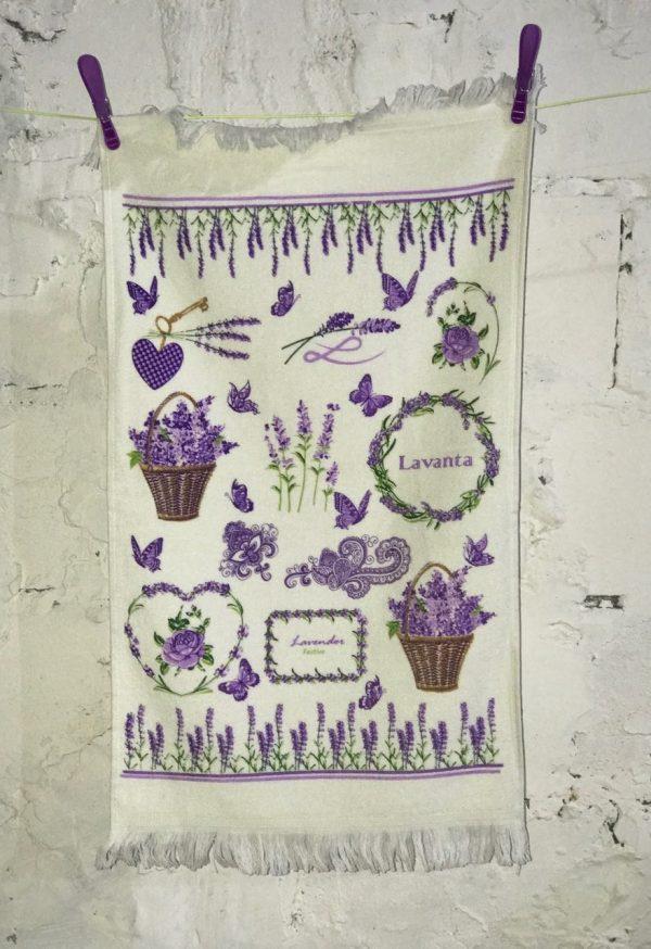 купить Кухонное полотенце Melih Lavender Festive