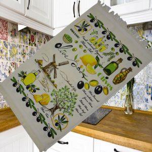 купить Кухонное полотенце Melih Olives Tree