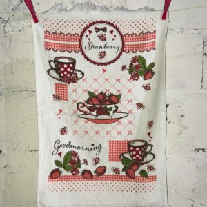 купить Кухонное полотенце Melih Strawberry 40x60