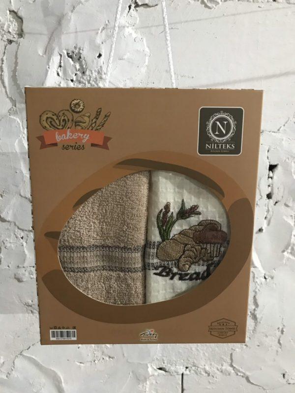 купить Набор вафельных кухонных полотенец Nilteks Bakery Series 2 шт