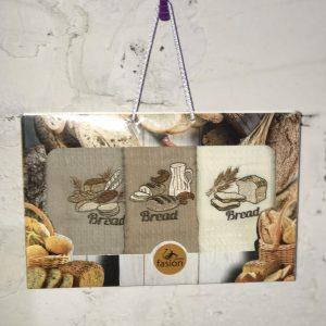 Набор кухонных полотенец Swan Fasion Bread V01 40×60