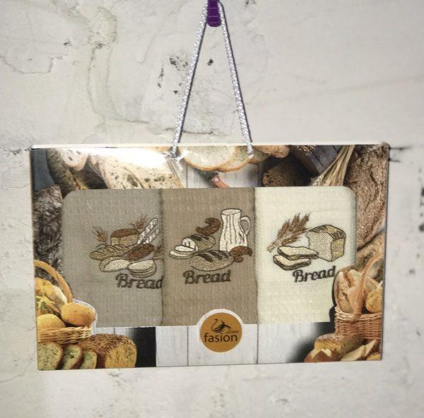купить Набор кухонных полотенец Swan Fasion Bread V01