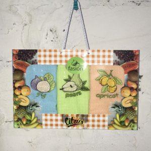 Набор кухонных полотенец Swan Fasion Citrus V01 40×60