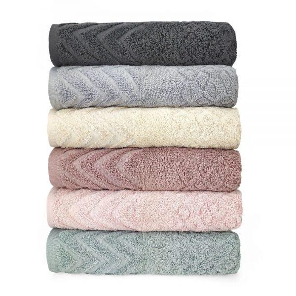 купить Набор махровых полотенец Sikel жаккард Anemon 6 шт