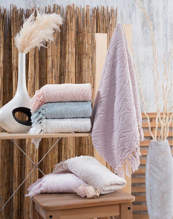 купить Набор махровых полотенец Sikel жаккард Marina 6 шт