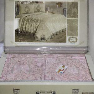 купить Покрывало с наволочками Kubra Class Marie pink