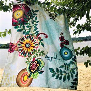 Полотенце пляжное Vende велюр Desigual 90×160