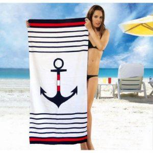 Полотенце пляжное Vende велюр Sea Anchor 75×150