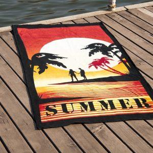 Полотенце пляжное Vende велюр Sumer 75×150