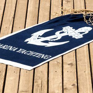 Полотенце пляжное Vende велюр Yachting 75×150