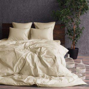 Постельное белье Banian Сатин Basic krem 200×220