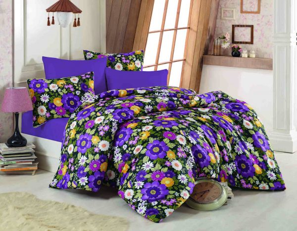 купить Постельное белье Class Botanical Purple Фиолетовый фото