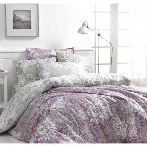 купить Постельное белье Class Mabel v1 Fuchsia Розовый|Серый фото