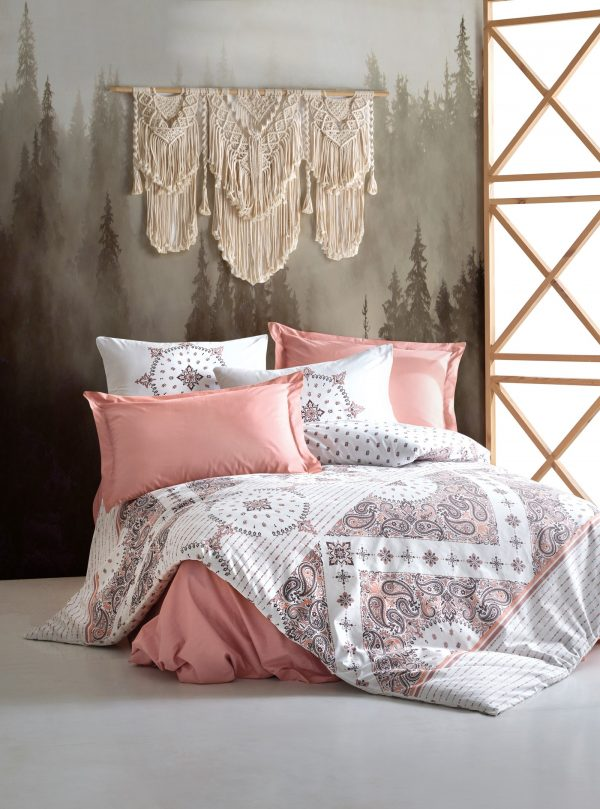 купить Постельное белье Cotton Box Bohem Riva Розовый фото