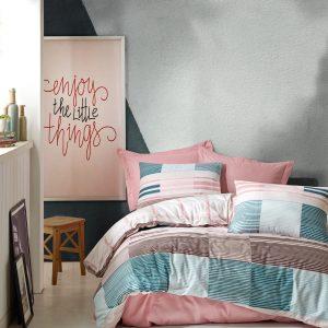 купить Постельное белье Cotton Box Eva Розовый фото