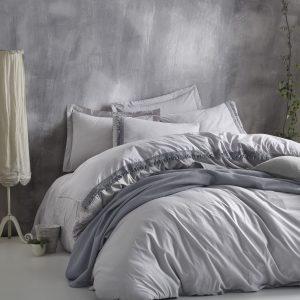 купить Постельное белье Cotton Box Nature Series Gri Серый фото
