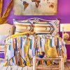 купить Постельное белье Karaca Home ранфорс Cherry sari 2020-1 Желтый фото