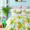 купить Постельное белье Karaca Home ранфорс Efia yesil 2019-2 Зеленый фото