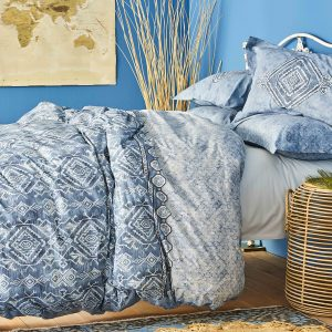 Постельное белье Karaca Home ранфорс Lanika mavi 2020-1 200×220