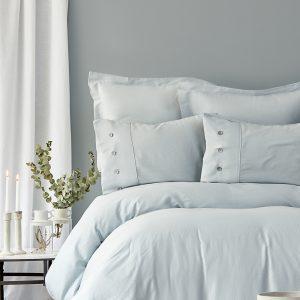 Постельное белье Karaca Home сатин Infinity a.mavi 2019-2 200×220