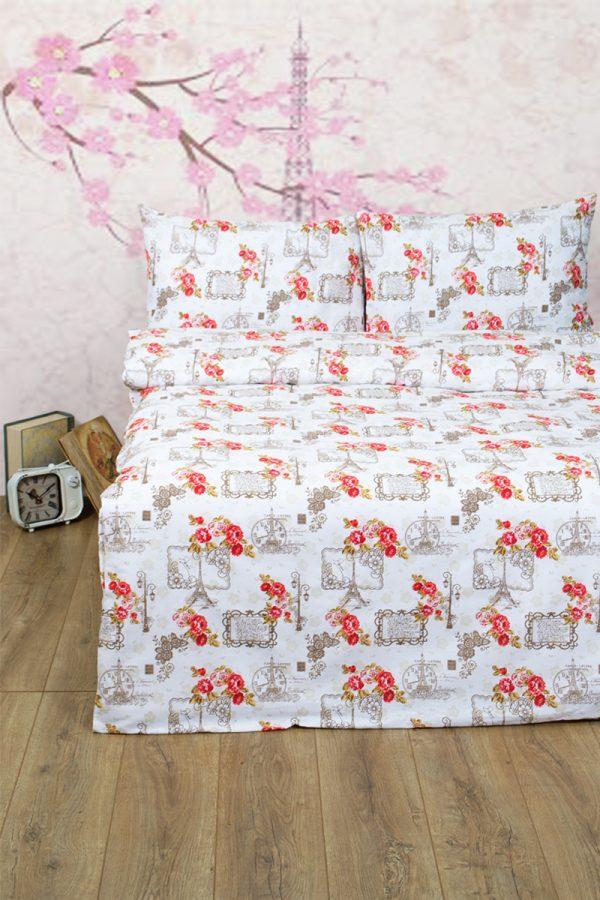 купить Постельное белье Lotus Ranforce La Clef Бежевый фото