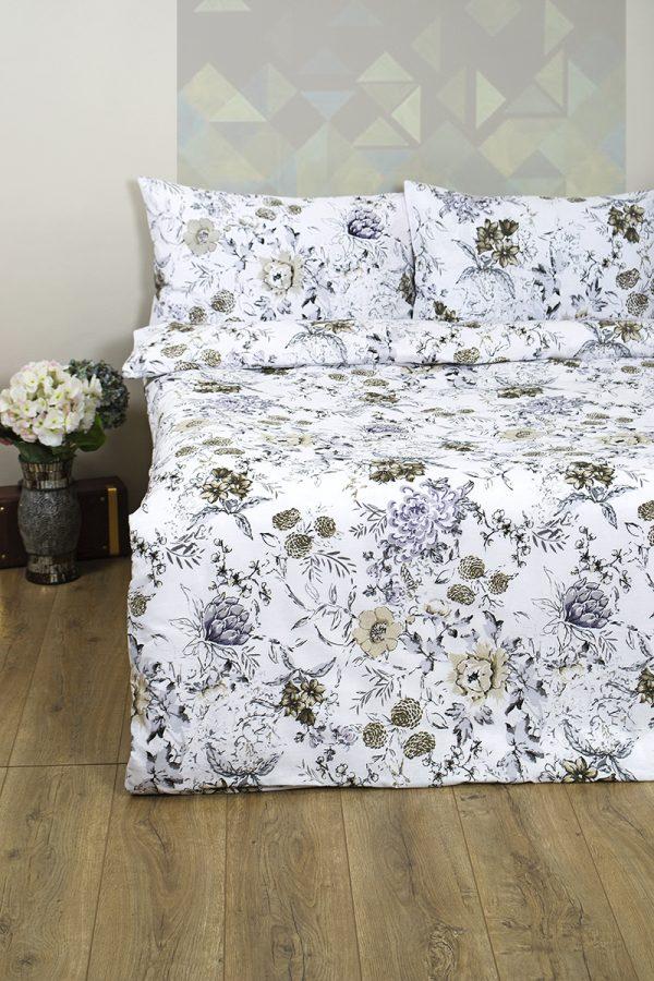 купить Постельное белье Lotus Ranforce Monica Серый фото
