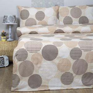 Постельное белье Lotus Ranforce Naomi Кофейный 145×210 (2 шт)