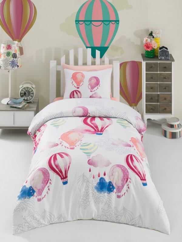 купить Постельное белье Zugo Home ранфорс Kapadokya Розовый фото