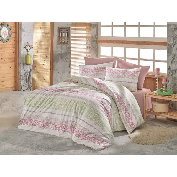 купить Постельное белье Zugo Home ранфорс Morel V3 Розовый фото