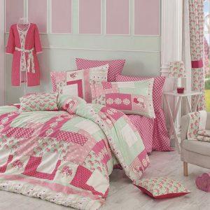 купить Постельное белье Zugo Home ранфорс Penty Розовый фото