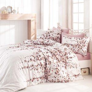Постельное белье Zugo Home ранфорс Time Pink V2 200×220