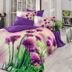 купить Постельное белье Zugo Home сатин Viola Фиолетовый фото