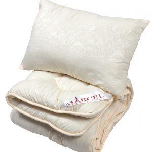 купить Детское одеяло с подушкой ТМ Марсель Кремовый фото