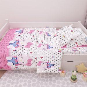 купить Детское постельное белье Марсель 165 Розовый фото
