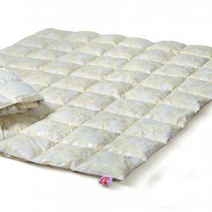 Одеяло Эко Пух – пух 50% перо 50% 140×205